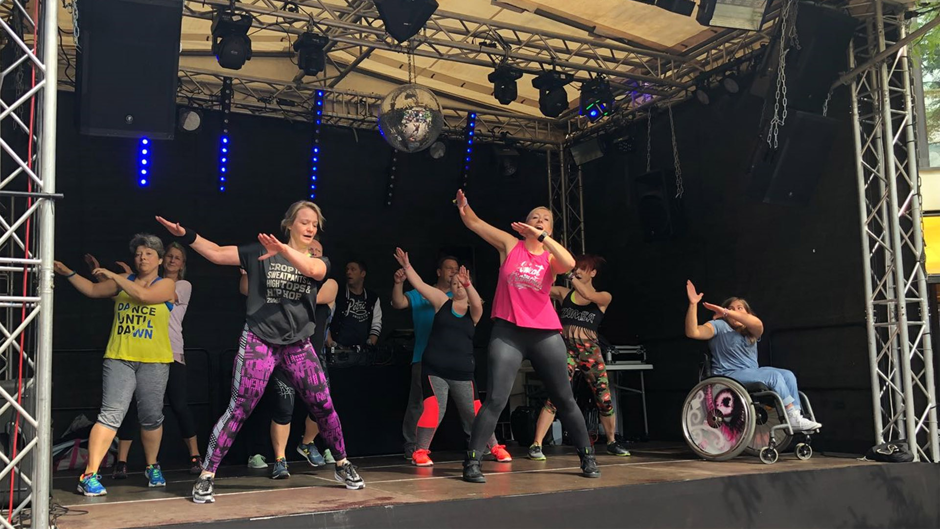 ZUMBA®-Fitness auf der Kieler Woche