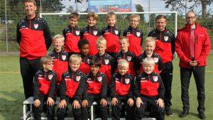 TSV Flintbek U8 - Neue Trainingsanzüge