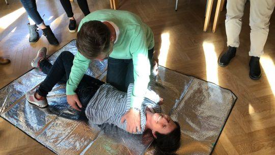 Erste-Hilfe-Kurs TSV Flintbek