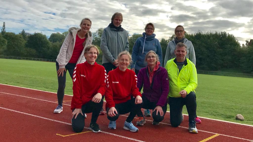 Neue Gruppe Leichtathletik 30+ gestartet