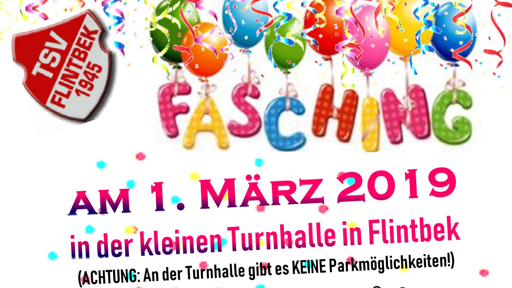 Kinder-Fasching am 1. März