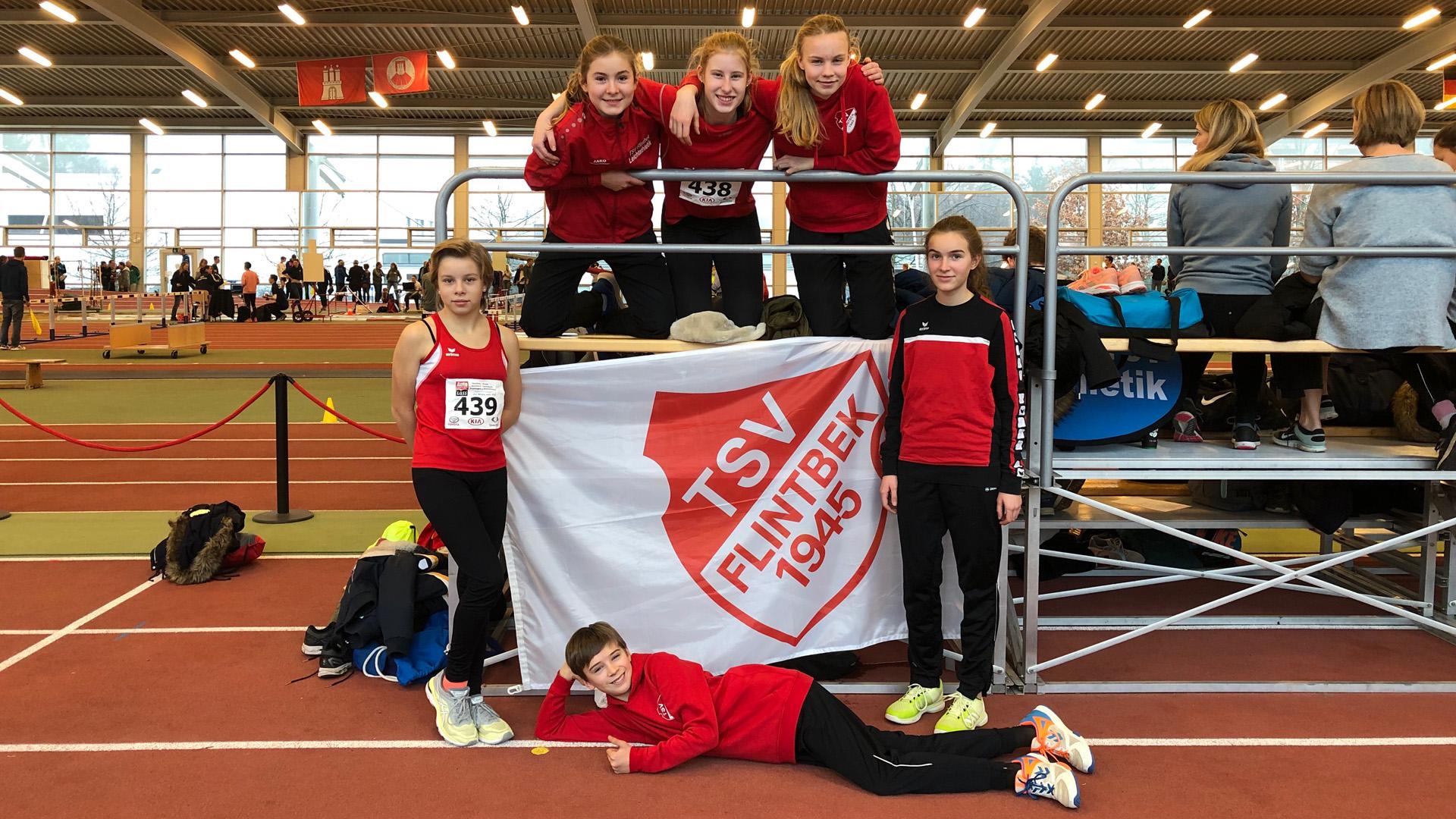 Hallen-LM: U16 mit einem kompletten Medaillensatz