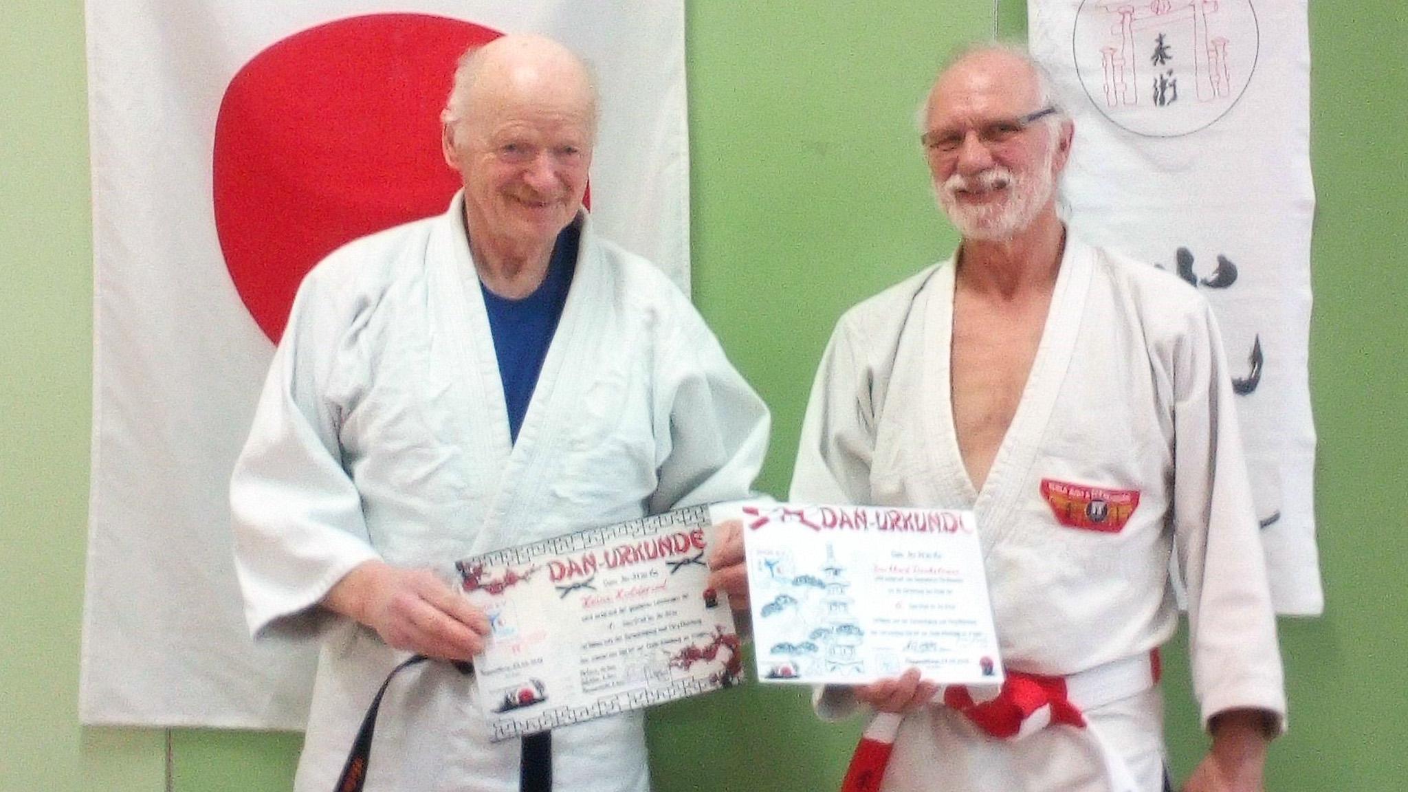 Landeslehrgang Jiu-Jitsu in Trappenkamp