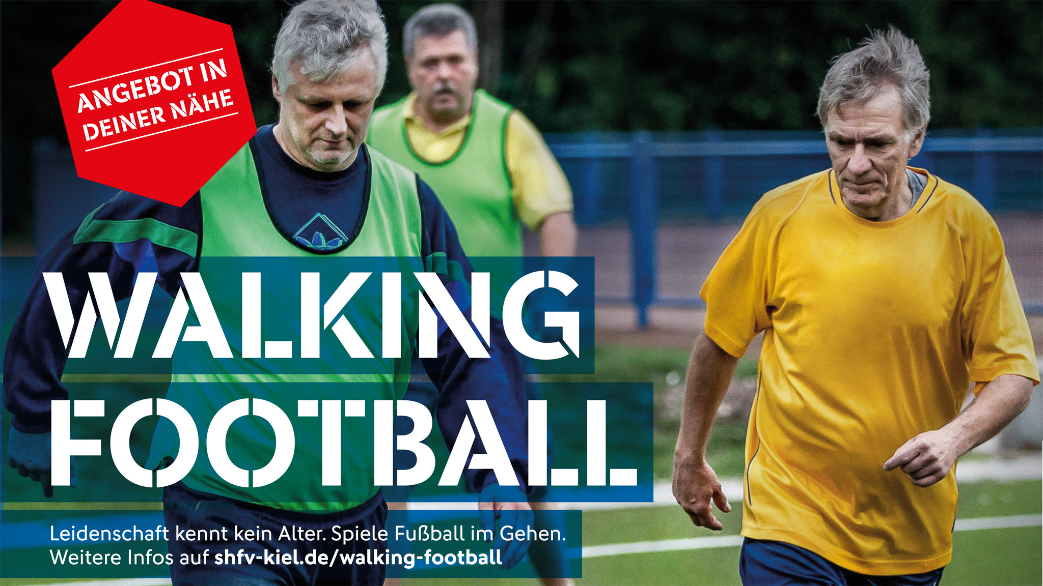 Geht ab: Walking-Football montags ab 17:30 Uhr