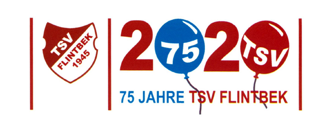 TSV Flintbek - Logo 75 Jahre
