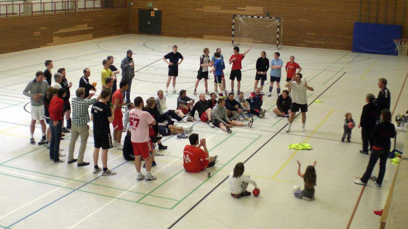 Jugendhandball-Kuddel-Muddel-Turnier